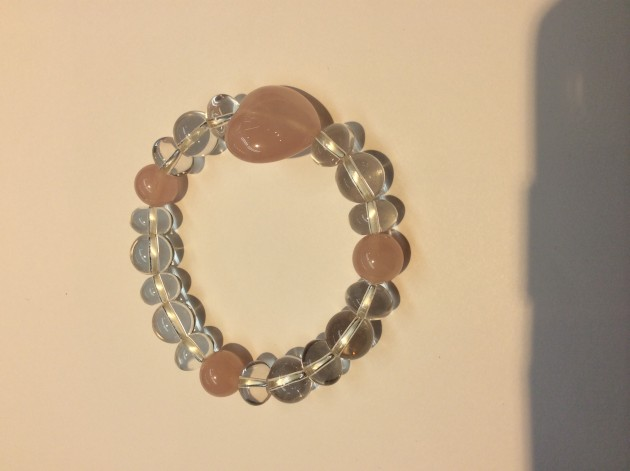 Rose quartz original bracelet_s
